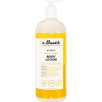 C. Booth 4-in-1 Lemon Sugar Body Lotion