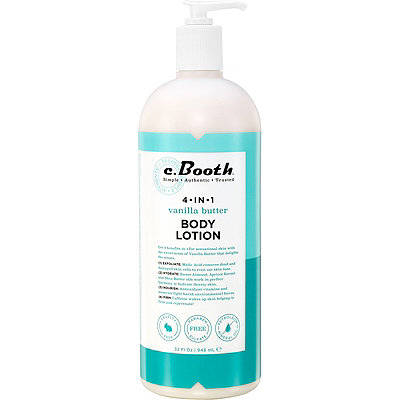 C. Booth 4-in-1 Vanilla Butter Body Lotion