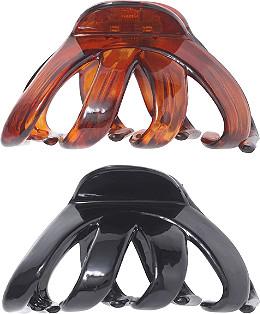 Riviera Black Tortoise Hair Clip Set Ulta Beauty