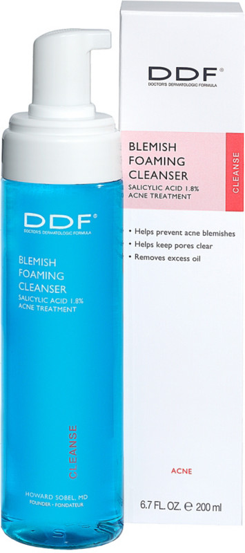 Online Only Blemish Foaming Cleanser Salicylic Acid 1.8% Acne Treatment