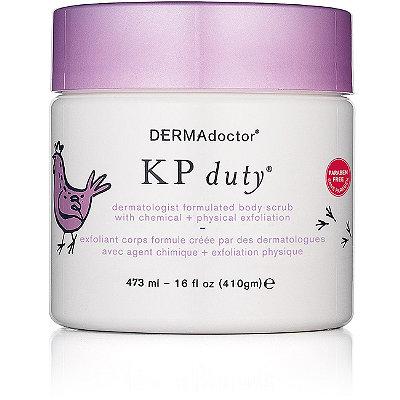 DermadoctorKP Duty Dermatologist Formulated Body Scrub with Chemical + Physical Exfoliation