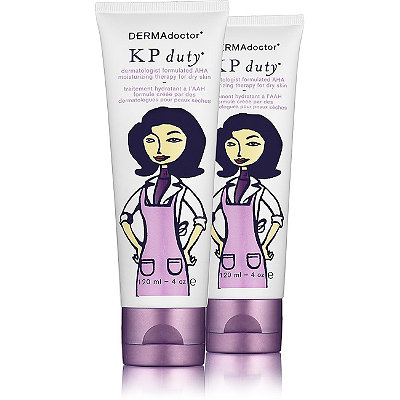 DermadoctorKP Duty Dermatologist Formulated AHA Moisturizing Therapy For Dry Skin Dual Pack