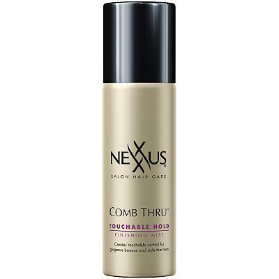 Travel Size Comb Thru Natural Hold Design and Finishing Mist