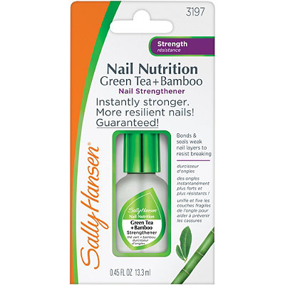 Sally Hansen Nail Nutrition Green Tea %2B Bamboo Nail Strenghtener