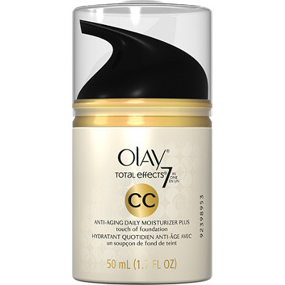 Olay CC Cream Total Effects Daily Moisturizer %2B Touch of Foundation