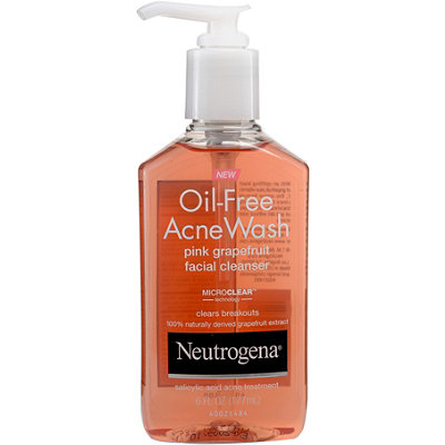 Neutrogena Pink Grapefruit Oil Free Acne Cleanser