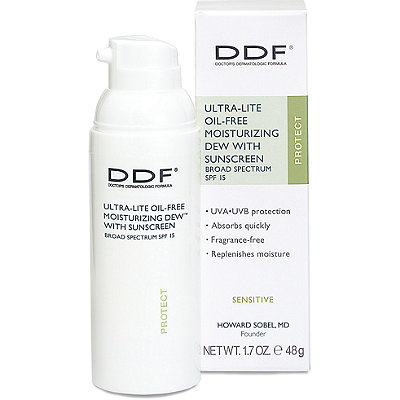 Ddf Online Only Ultra-Lite Oil Free Moisturizing Dew with Sunscreen Broad Spectrum SPF 15