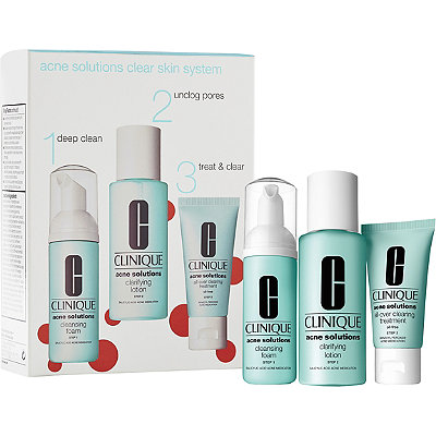 CliniqueAcne Solutions Clear Skin System