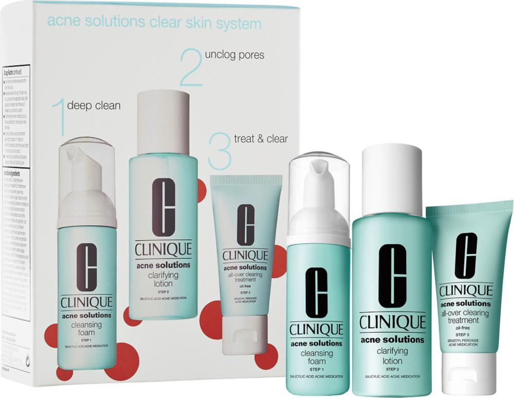 clinique face wash set