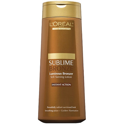 L'Oréal Body Expertise Sublime Bronze Luminous Bronzer Self-Tanning Lotion