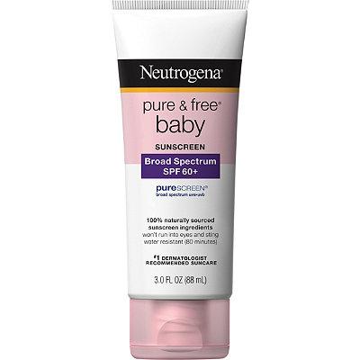 NeutrogenaPure & Free Baby Sunblock Lotion SPF 60