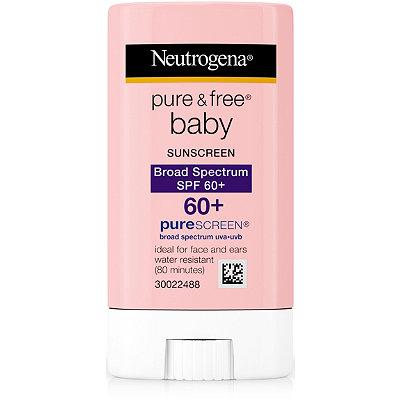 NeutrogenaPure %26 Free Baby Sunblock Stick SPF 60
