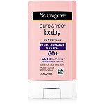 NeutrogenaPure & Free Baby Sunblock Stick SPF 60