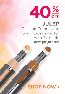40% off Julep Cushion Complexion 5-in-1 Skin Perfector with Turmeric. Now $18, regular $30. Shop Now.