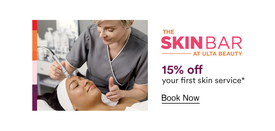 15% Off your first skin service. Book now