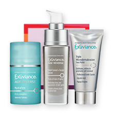 Exuviance NOW $50.40-55.30 Age Reverse Total Correct + Sculpt Serum, HydraFirm, Triple Microdermabrasion Face Polish reg $72-79