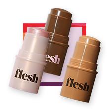 Flesh NOW $12 Firm Flesh Thickstick Foundation or Touch Flesh Highlighting Balm reg $18