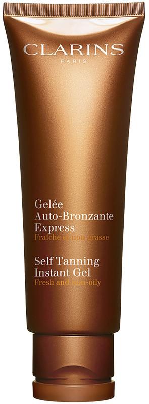 clarins self tanning gel