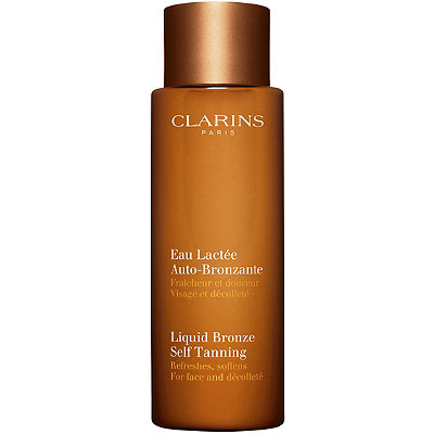 Clarins Liquid Bronze Self Tanning for Face and D%C3%A9collet%C3%A9