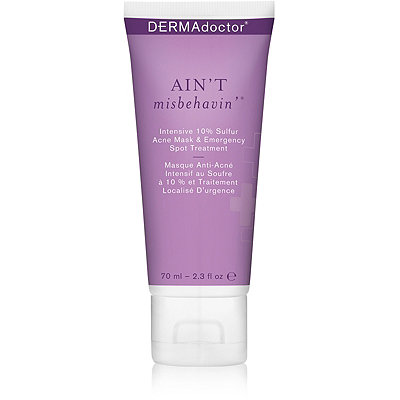 Dermadoctor Ain%27t Misbehavin%27 Intensive 10%25 Sulfur Acne Mask %26 Emergency Spot Treatment