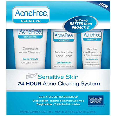 University Medical AcneFree Sensitive Skin System