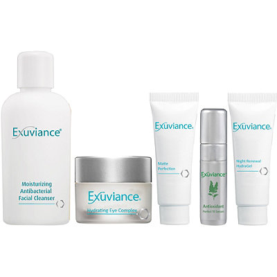 Exuviance Essentials Kit Oily/Acne Prone