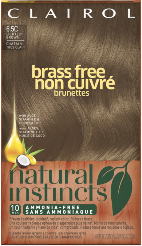 Clairol Natural Instincts Brass Free Brunettes Ulta Beauty