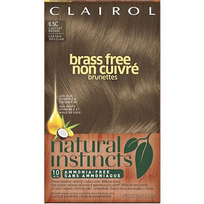 Natural Instincts Brass Free Brunettes