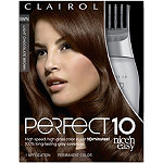 Clairol Perfect 10 Nice 'n Easy Hair Color Light Chocolate Brown
