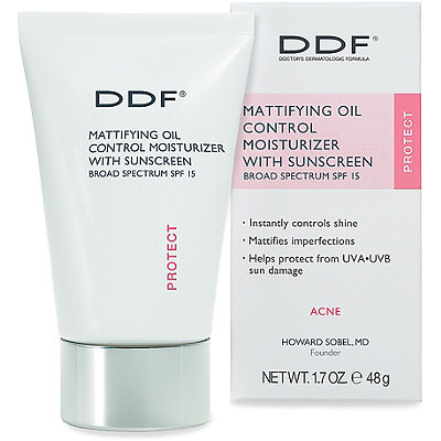 DdfMattifying Oil Control Moisturizer with Sunscreen Broad Spectrum SPF 15