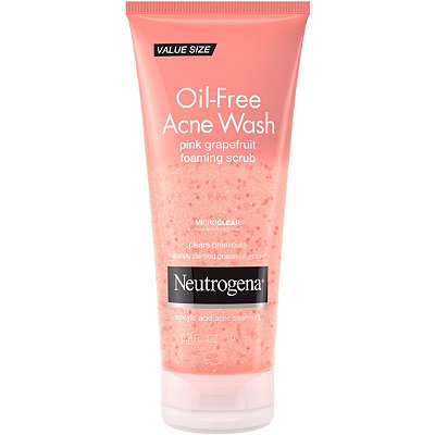 Oil Free Acne Wash Pink Grapefruit Foaming Scrub