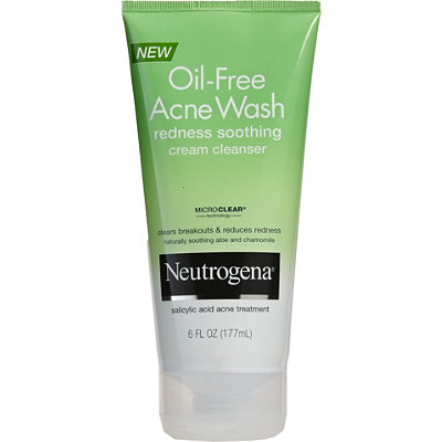 Neutrogena Acne Wash Redness Soothing Facial Cream Cleanser