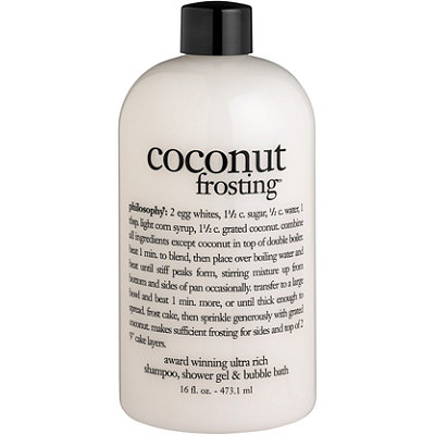 Philosophy Coconut Frosting Shampoo, Shower Gel & Bubble Bath