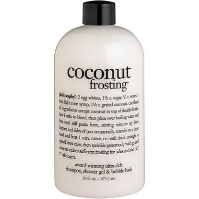 Coconut Frosting Shampoo, Shower Gel & Bubble Bath