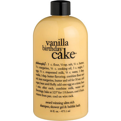 PhilosophyVanilla Birthday Cake Shampoo, Shower Gel & Bubble Bath