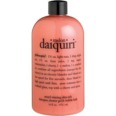 Melon Daiquiri Shampoo, Shower Gel & Bubble Bath