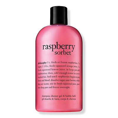 PhilosophyRaspberry Sorbet Shampoo, Shower Gel & Bubble Bath