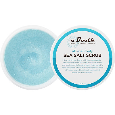 C. Booth All Over-Body Sea Salt Scrub