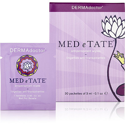 DermadoctorMED e TATE Antiperspirant Wipes