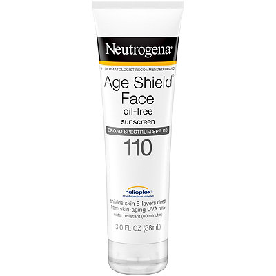 Age Shield Face Sunblock Lotion SPF 110 with Helioplex