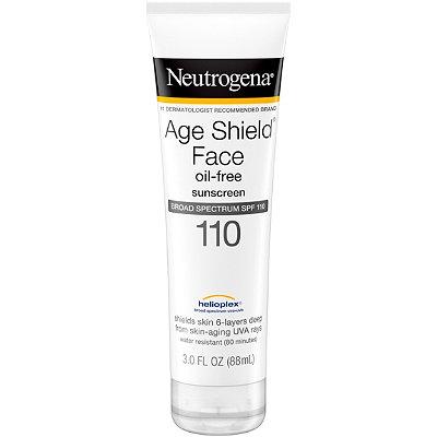 NeutrogenaAge Shield Face Sunblock Lotion SPF 110 with Helioplex