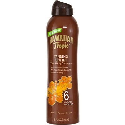 Hawaiian Tropic Dry Oil Continuous Spray SPF 6