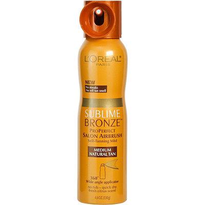 L'Oréal Sublime Bronze Pro Perfect Salon Airbrush Self-Tanning Mist