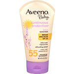 AveenoContinuous Protection Baby Sunblock SPF 55
