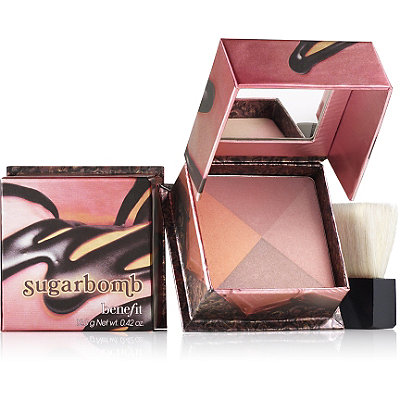 Benefit Cosmetics Sugar Bomb 4 Shade Shimmering Blush