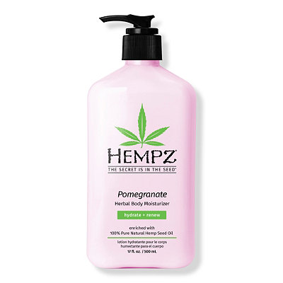 HempzPomegranate Herbal Body Moisturizer