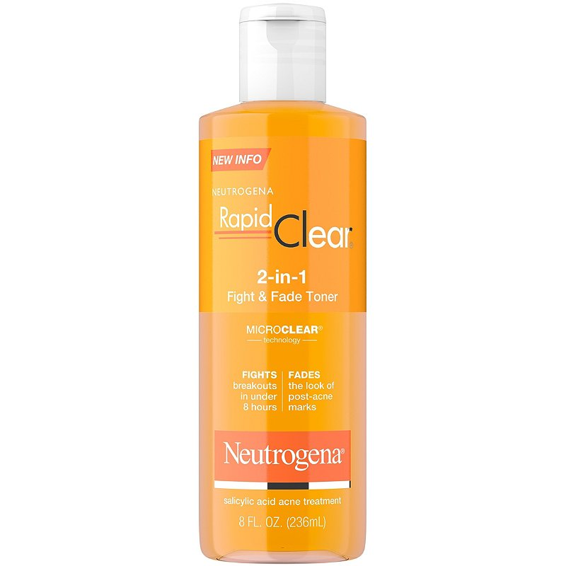 Neutrogena Rapid Clear 2 In 1 Fight Fade Toner Ulta Beauty