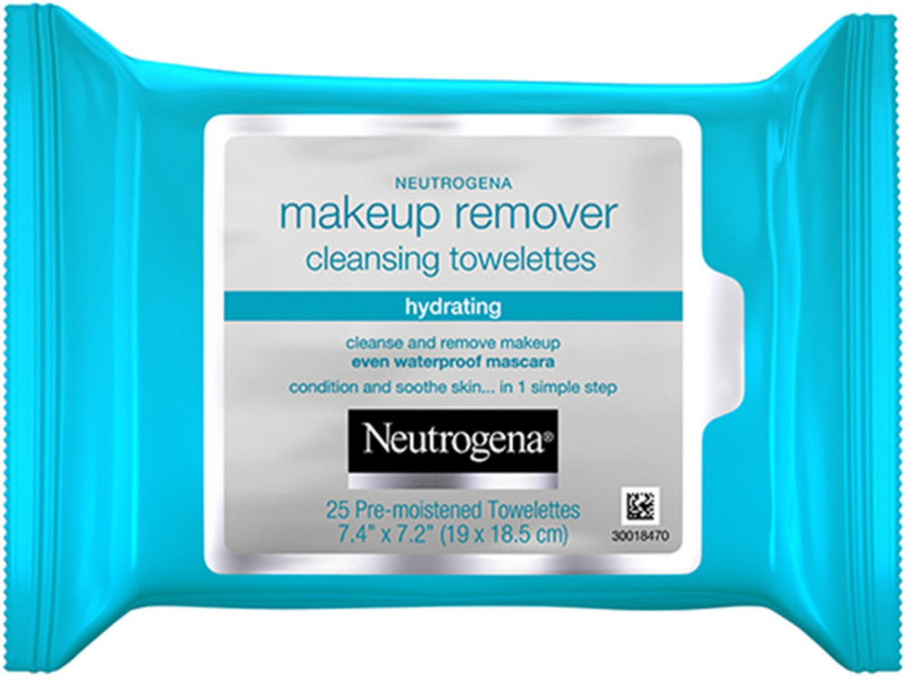Neutrogena Hydrating Makeup Remover Cleansing Towelettes ...