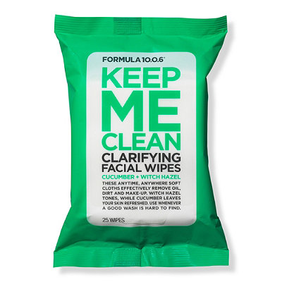 Formula 10.0.6Keep Me Clean Purifying Facial Wipes