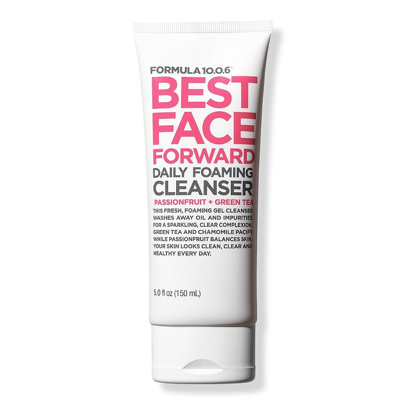 Best Face Forward Daily Foaming Cleanser Passionfruit + Green Tea
